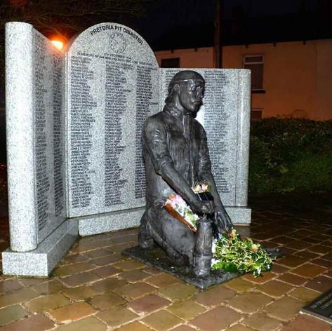 The Pretoria pit memorial at Ditchfield