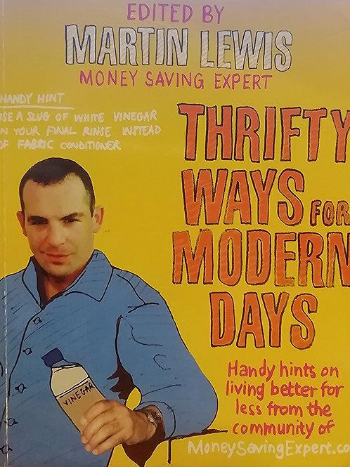 'Thrifty Ways for Modern Days' edited by Martin Lewis
