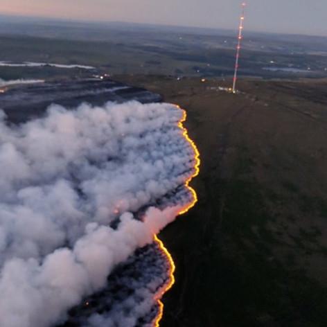 Winter Hill recent fires