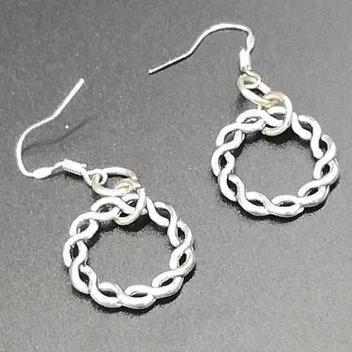 Earrings - Celtic Loops