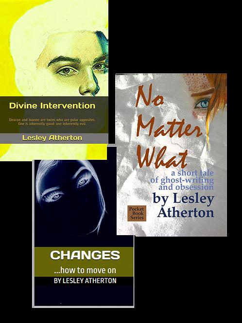 Three Short Novels by Lesley Atherton
