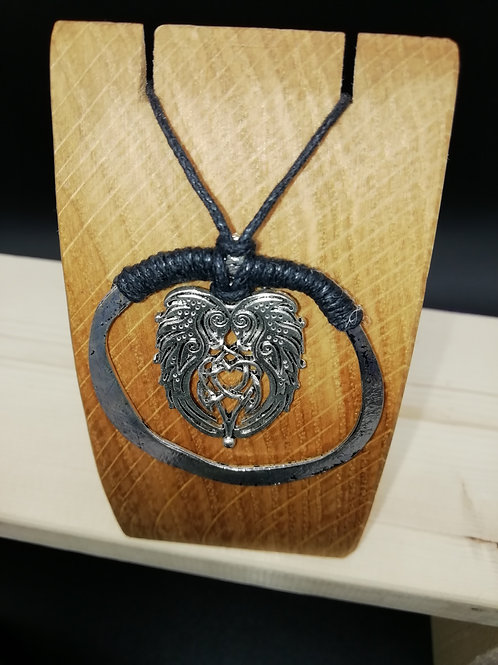 Necklace - Ring and Celtic Animals
