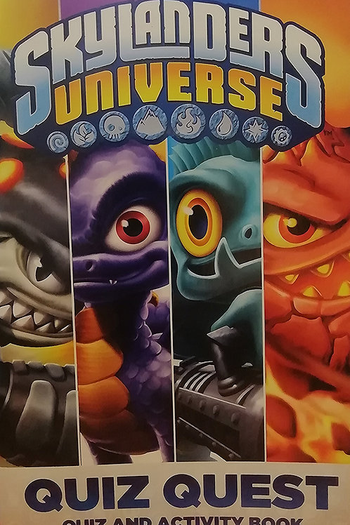 'Skylanders Universe: Quiz Quest, Quiz and Activity Book'