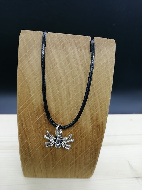 Necklace - Silver Spider