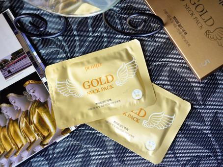 Petitfee Gold Neck Pack: мои первые патчи для шеи