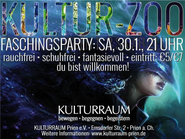 KULTURZOO Faschingsparty