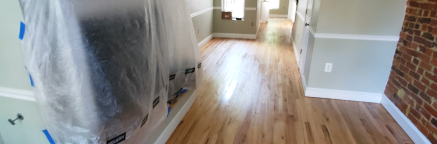 Floor and wall refinishing