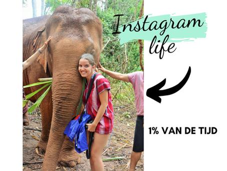 Als ons leven niet altijd Instagram waardig is, is het dan wel goed genoeg? - Personal story-
