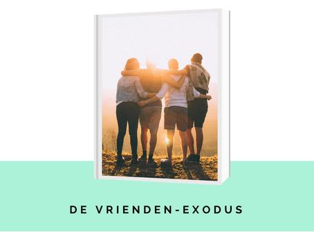 Hoe je twintiger jaren wel een vrienden-exodus lijken.