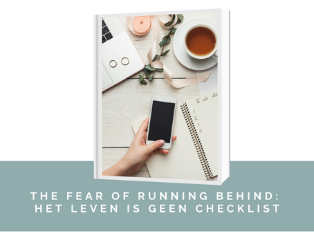 """FORB of """"the fear of running behind"""""""