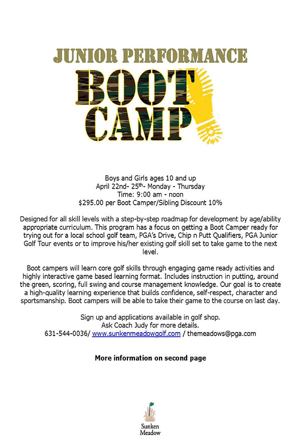 Junior Boot Camp Program- Spring 2019_Pa