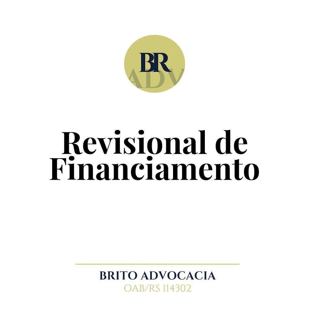 financiamento contrato advogado brito estancia velha revisional taxa alta emprestimo carro imovel diminuir a taxa