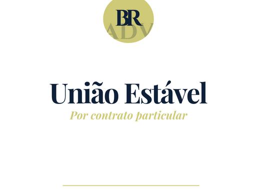 Contrato particular de união estável
