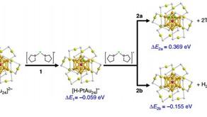 A molecule-like PtAu24(SC6H13)18 nanocluster as an electrocatalyst for hydrogen production