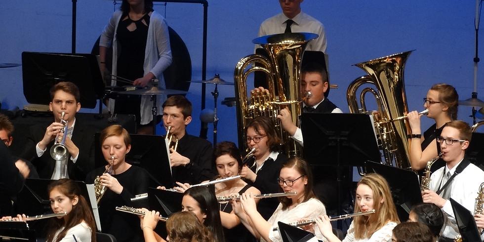 High School Fall Band Concert
