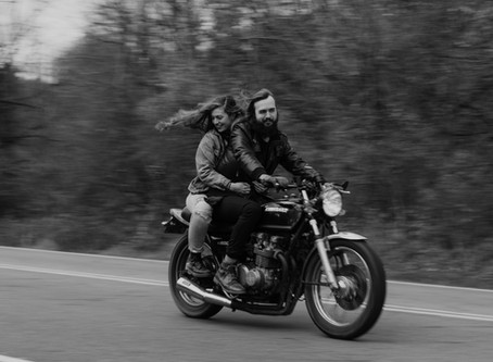 MIKAYLA+LUKE: FALL MOTORCYCLE RIDE