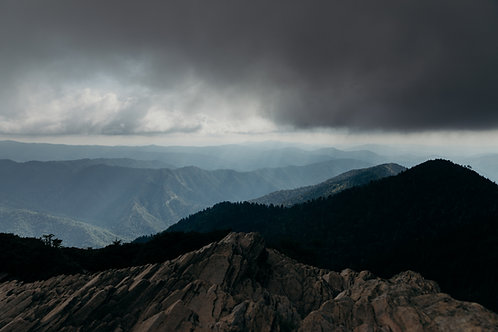 Mt. LeConte Summit 8x12 Fine Art Print
