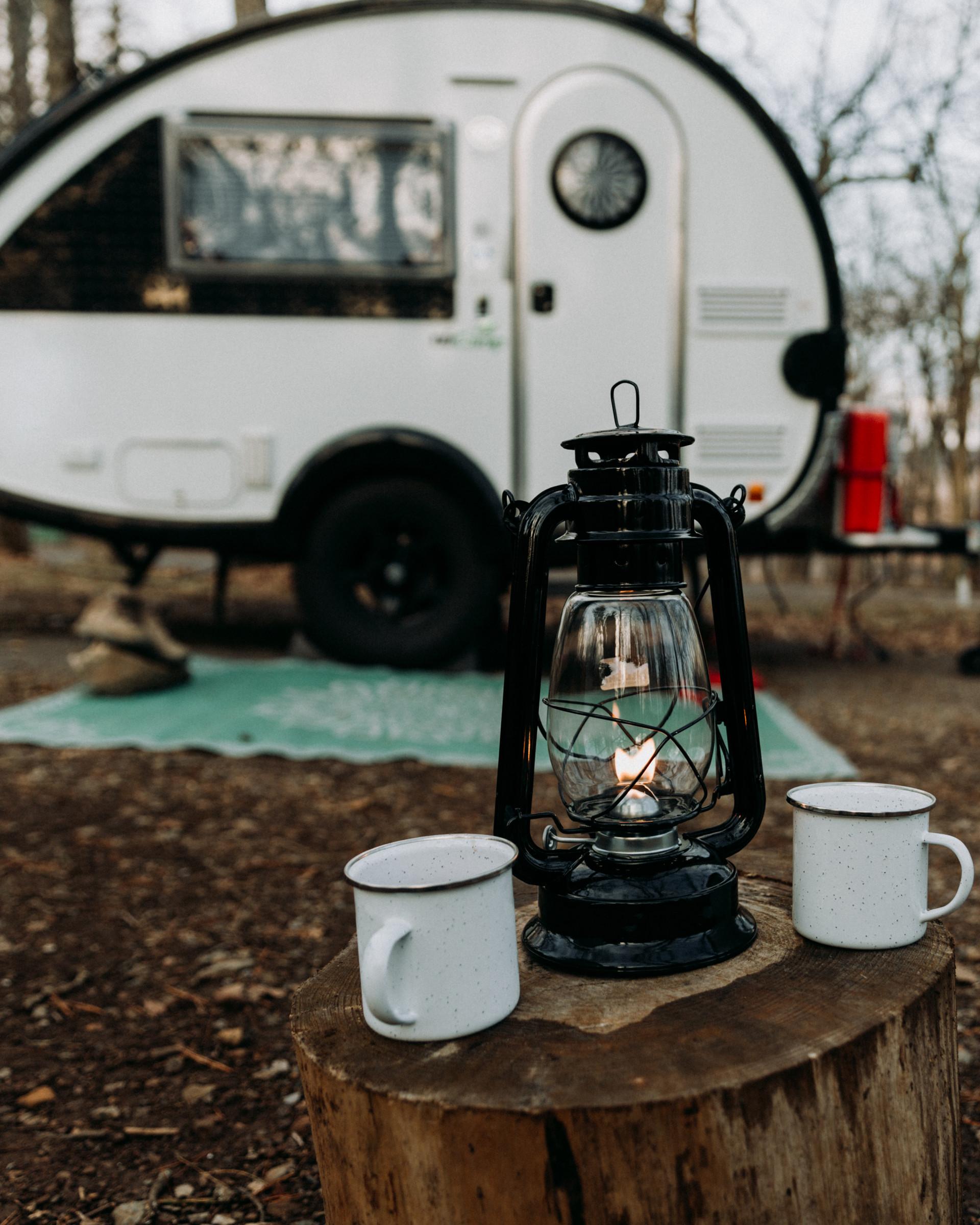 Rainy Day Camping
