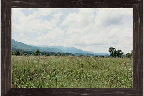 Mountain Prairie 12x18 Framed Print