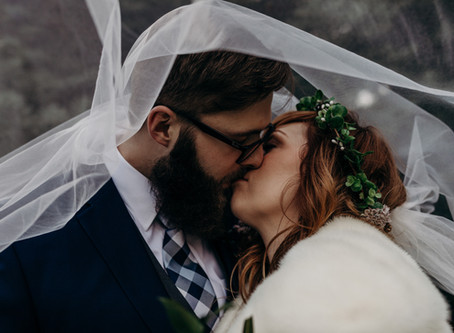 FLORENCE + STEPHEN COZY FALL WEDDING