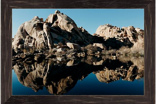Desert Lake 12x18 Framed Print