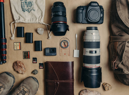 THE PHOTOGRAPHY EQUIPMENT WE CARRY WHILE BACKPACKING & WHY