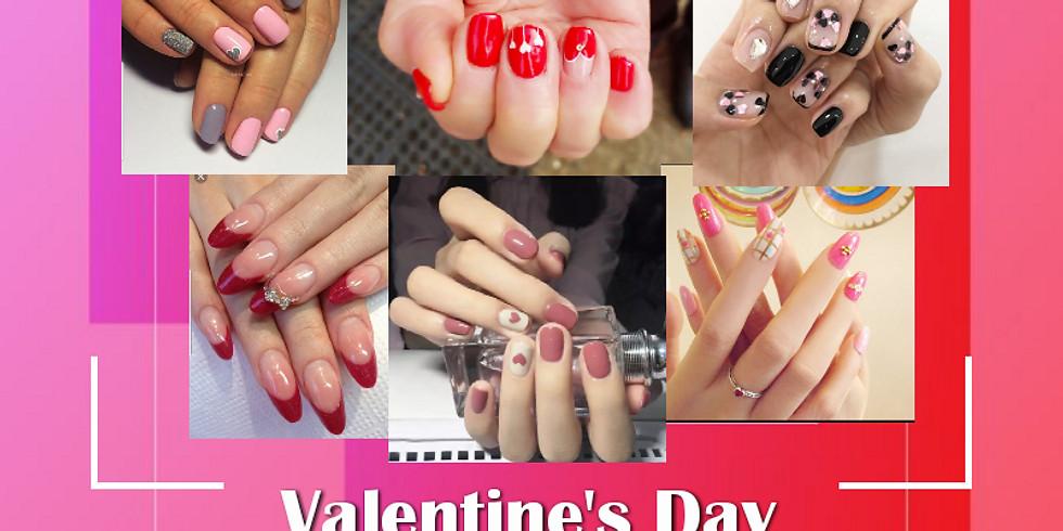 Valentine's Day Nail Art Event