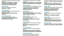 """Programa """"Miércoles Mediación""""        2018-2020"""