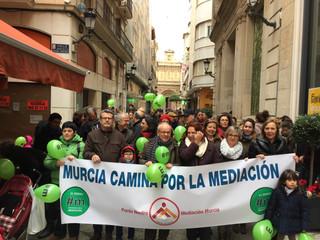 Murcia camina por la Mediación