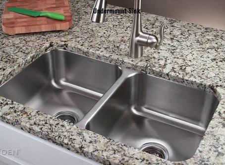 Undermount vs. TopMount Sinks