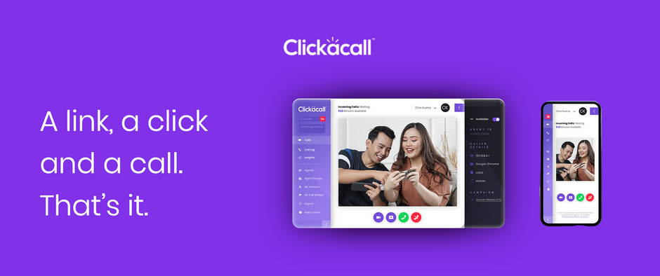 ClickaCall: Online communication made simple