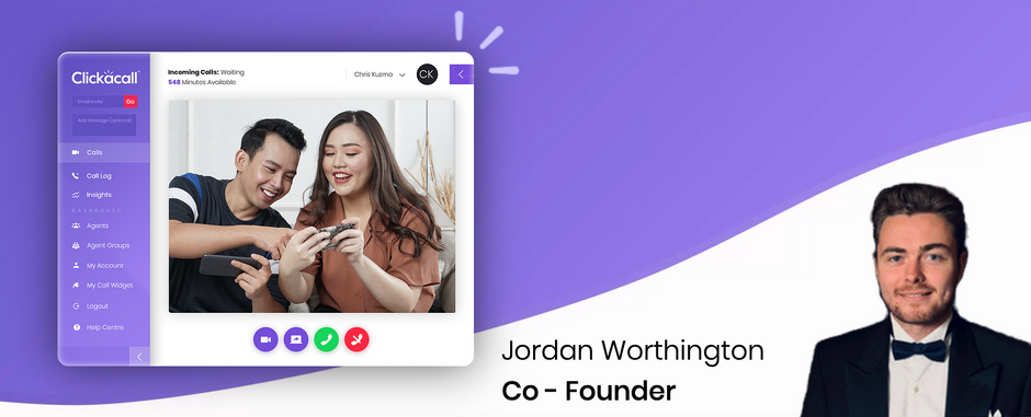 Why Clickacall is groundbreaking: Co-Founder Jordan Worthington