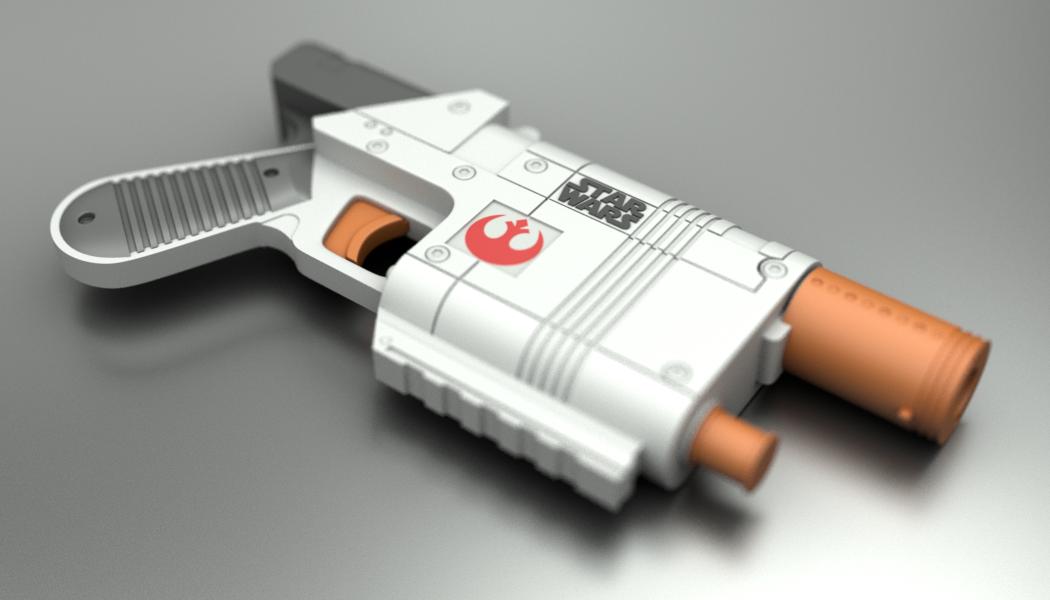 NERF Star Wars VII Rey (Jakku) Blaster