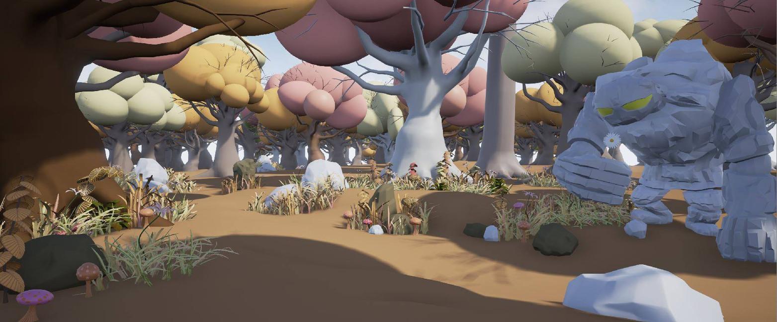 Cartoon Fantasy Landscape 2