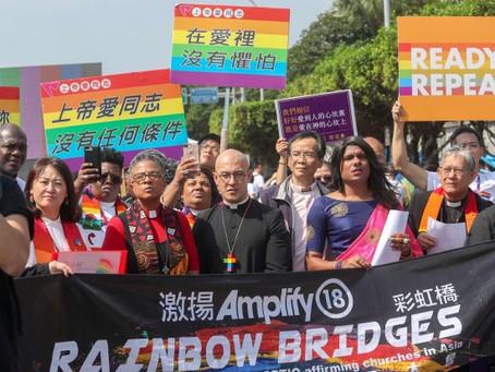 2018.10.27 基督徒支持婚姻平等,LGBTIQ反歧視,創建一個真正包容友善的教會(激揚2018 臺北聲明)