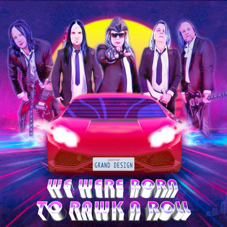 """New album, """"We Were Born To Rawk N Roll"""", is out now!"""