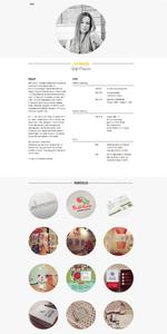Captura de Pantalla del Sitio Web Lisa Kramer