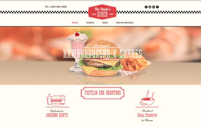 Sitio de restaurant