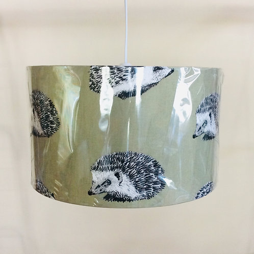 Lampshade, hedgehogs (3512)