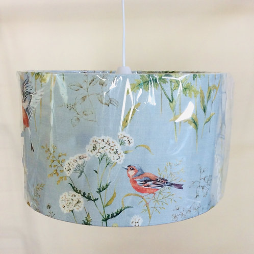 Lampshade, chaffinch (3517)