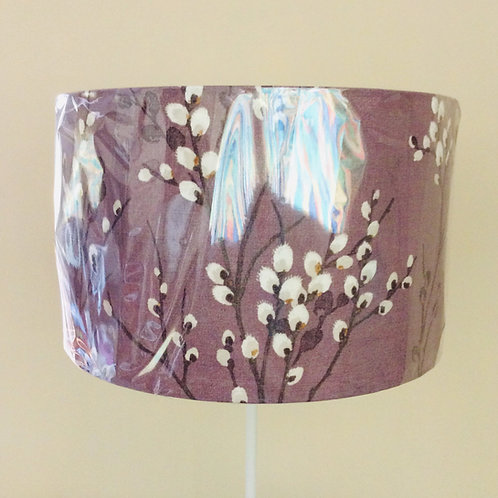 Lampshade purple willow (4020)
