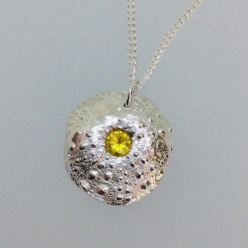 Silver Sea Urchin Necklace