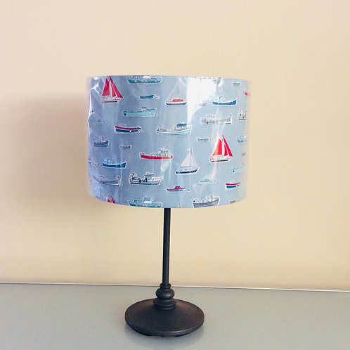 Lampshade, boats (3022)