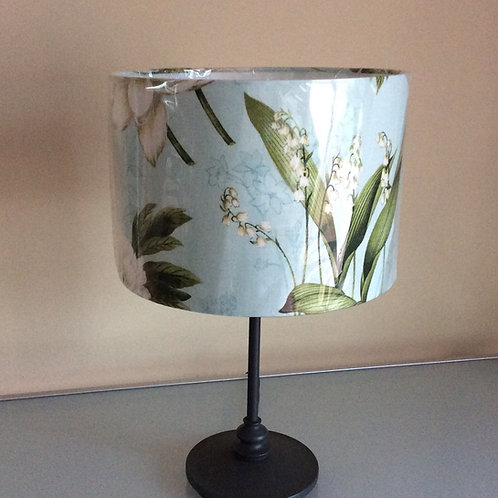 Lampshade, floral with lily of the valley (3010)