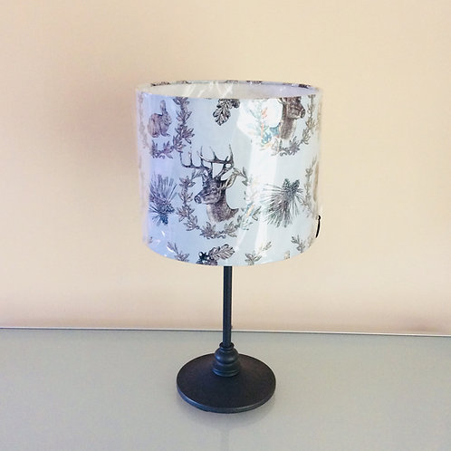 Lampshade, woodland animals (2516)
