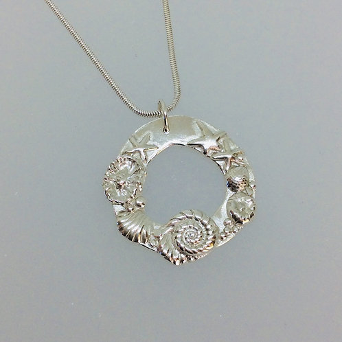 Silver Seaside Necklace