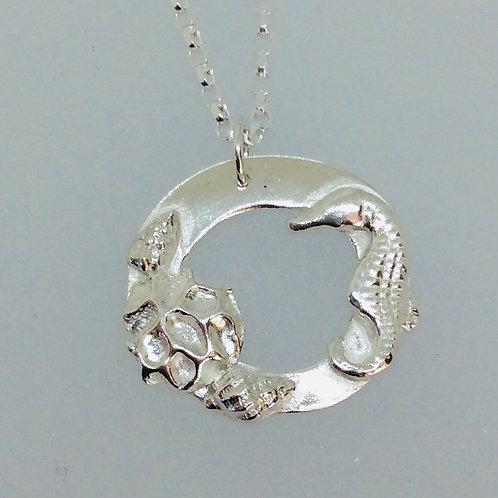 Silver Seaside Necklace