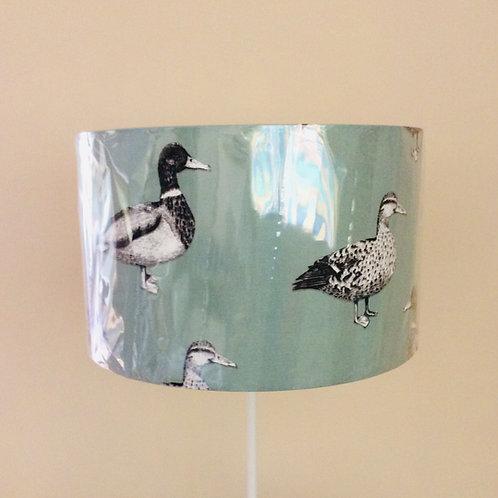Lampshade, mallard ducks (4025)