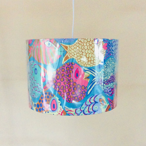 Lampshade, fish (3015)