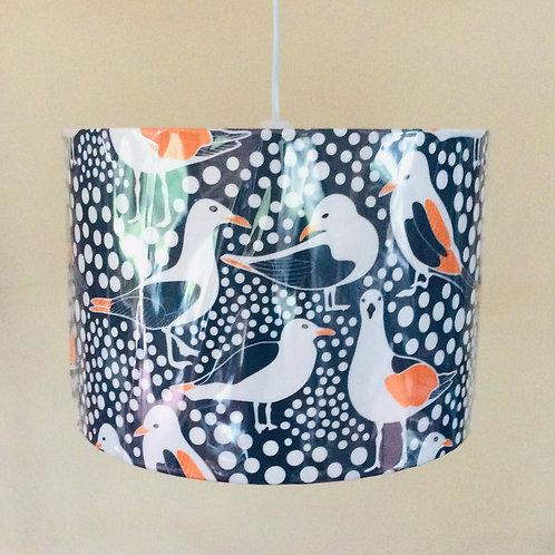 Lampshade, gulls (3011)